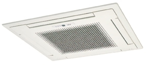 ceiling cassette ductless mini split in albuquerque
